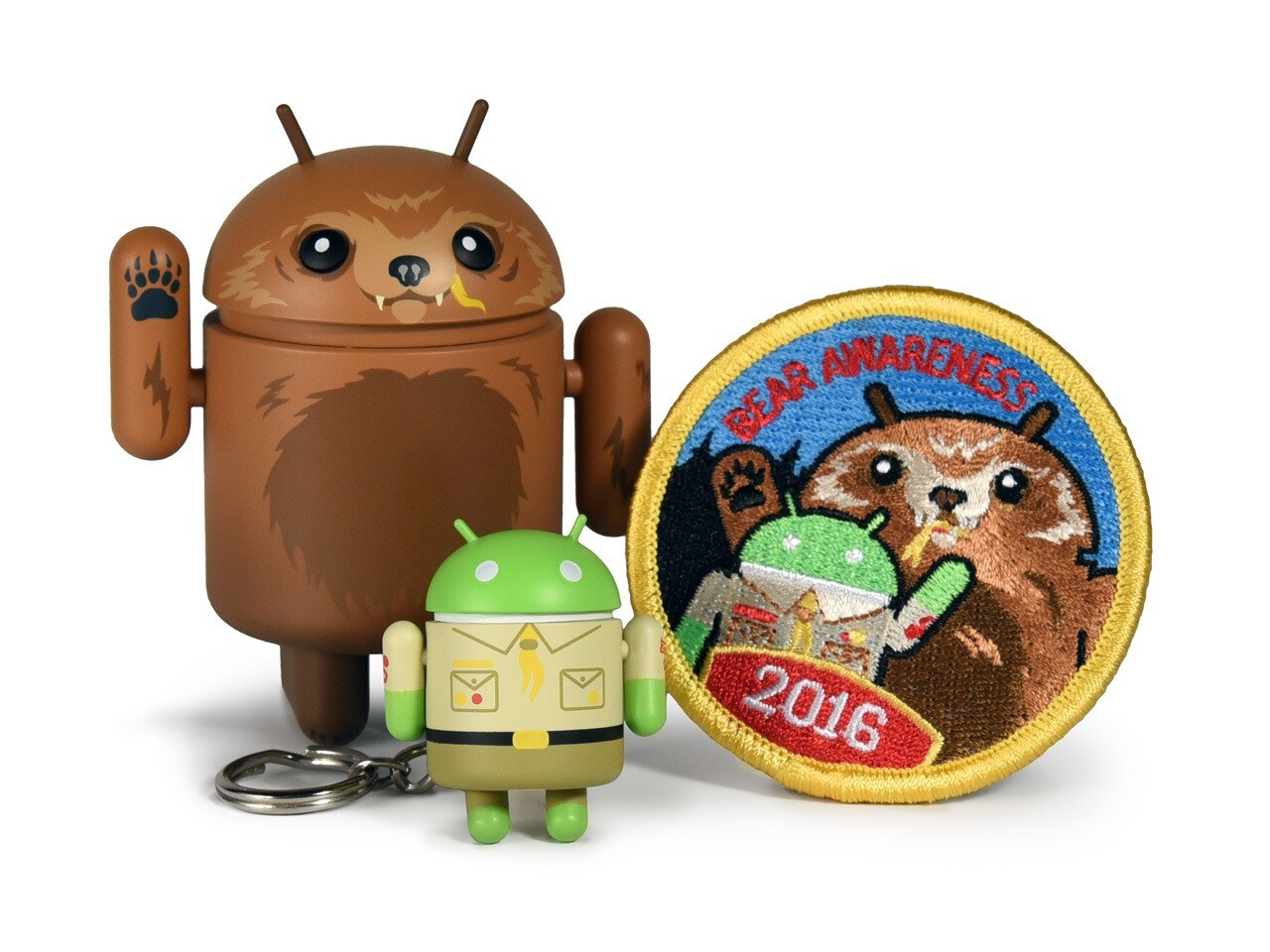Android Collectible Bear Awareness