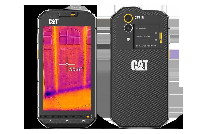 Cat s60-front back