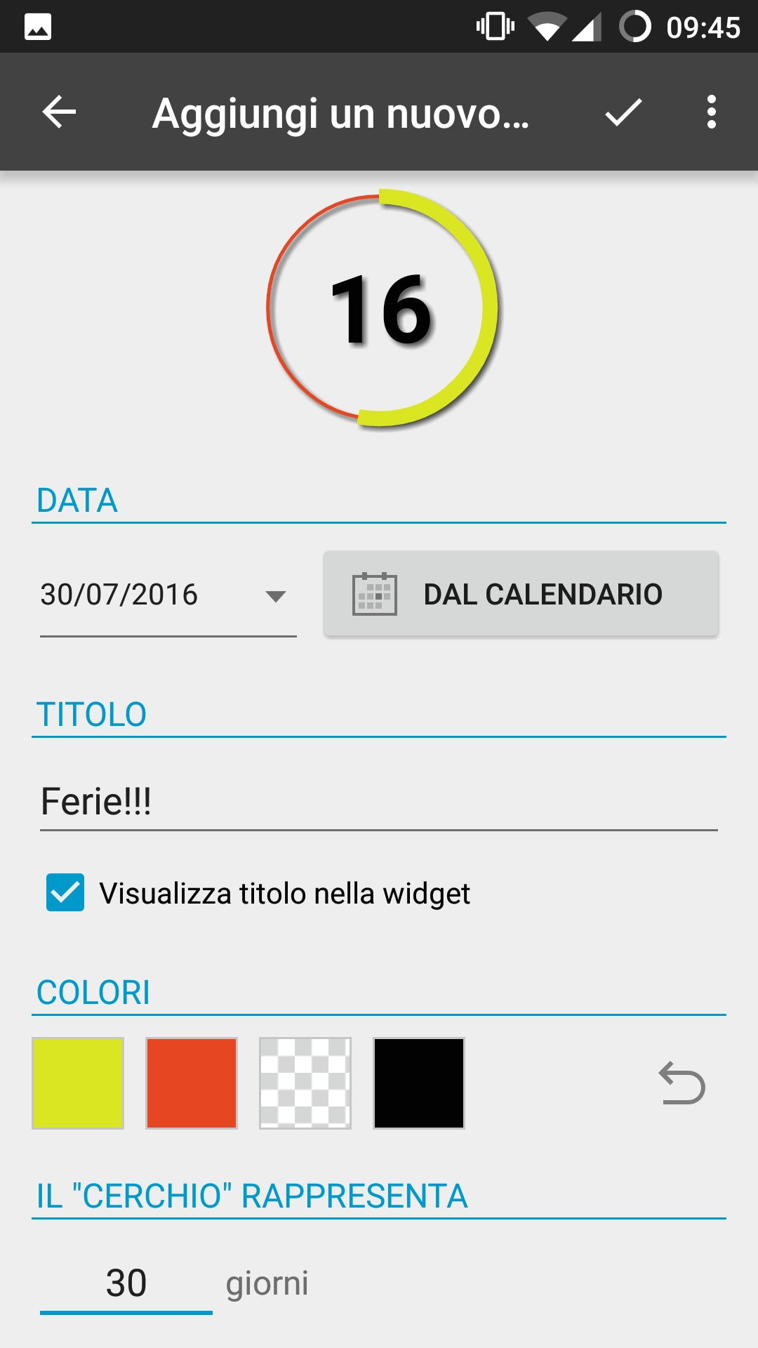 Countdown widget for events (2)