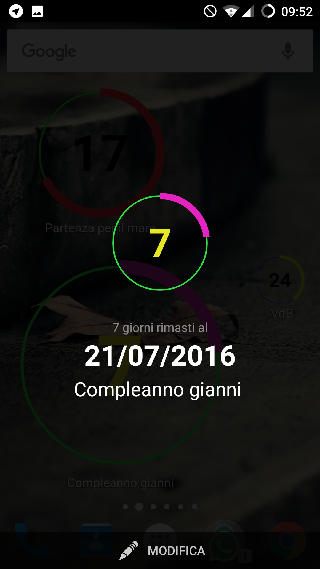 Countdown widget for events (6)