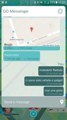 GO Messenger screenshot - 1