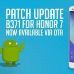 Honor 7 Aggiornamento B371