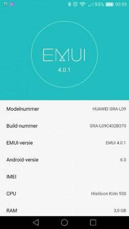 Huawei P8 Update EMUI 4.0.1