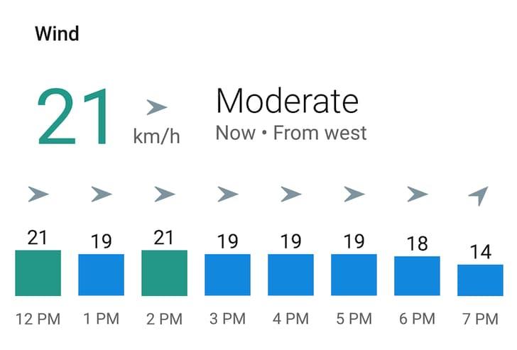 Meteo Google Now luglio 2016 - 1