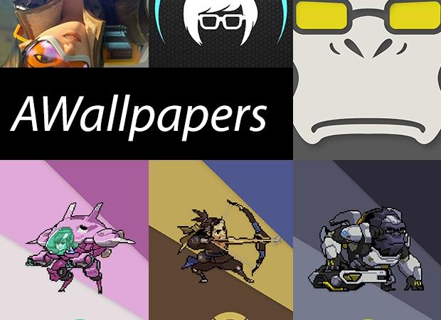 Tanti bellissimi sfondi minimal di Overwatch - AWallpapers