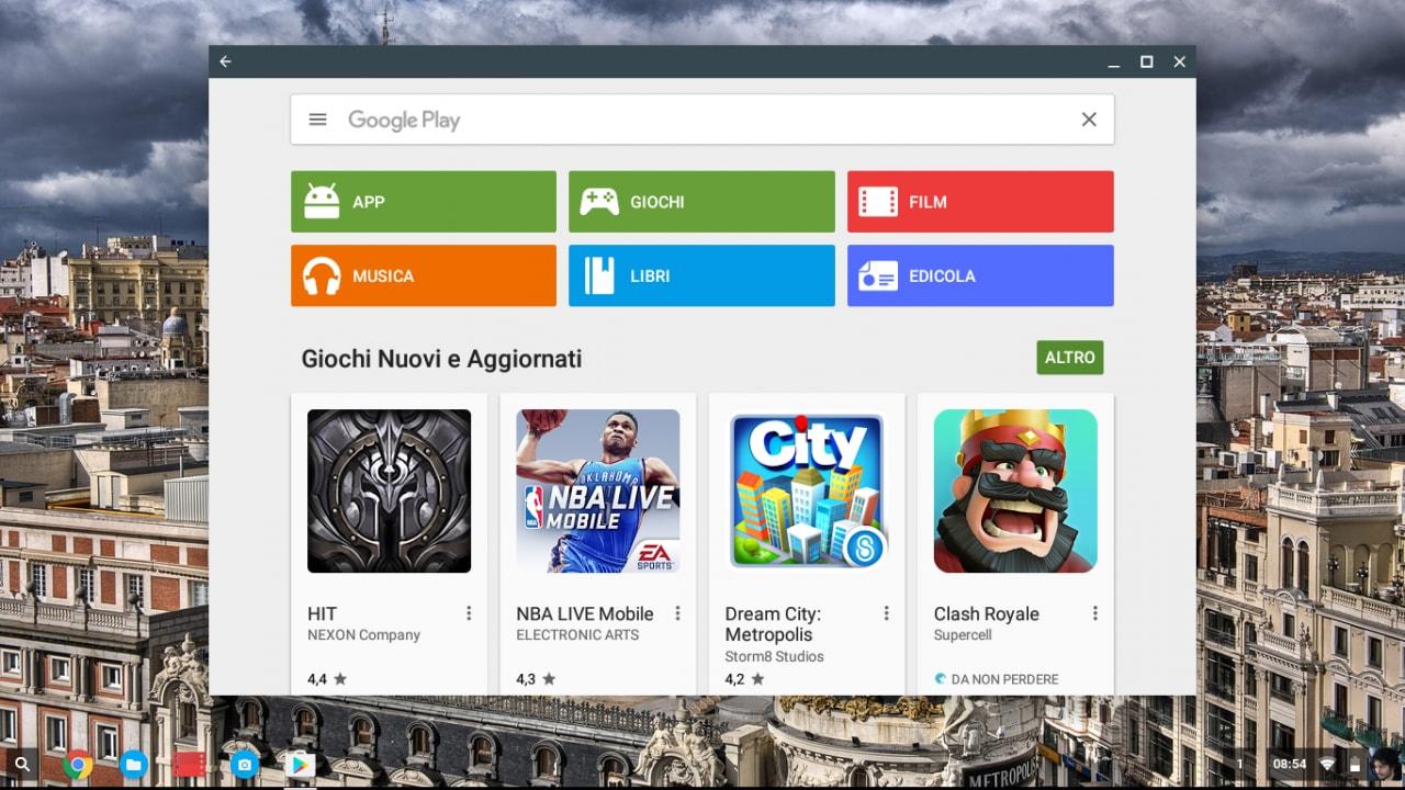 Play Store Chrome OS - 3