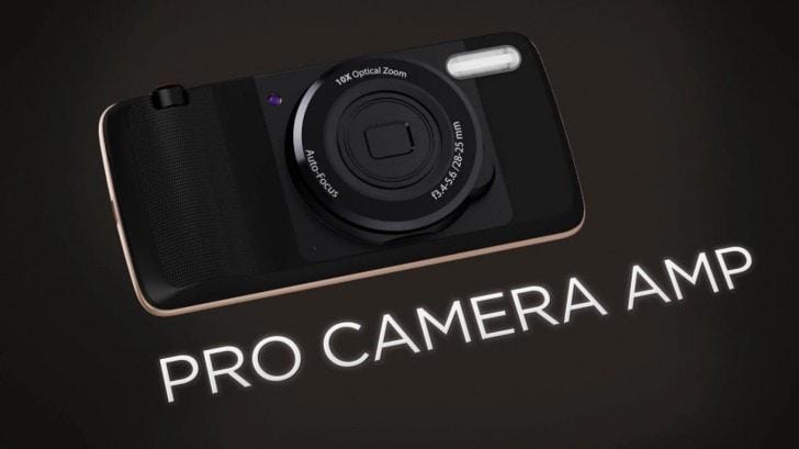 Pro camera moto mod