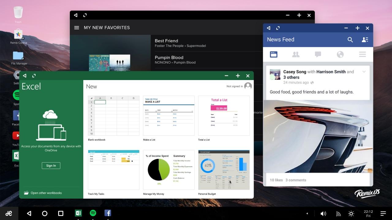 Remix OS per PC Marshmallow