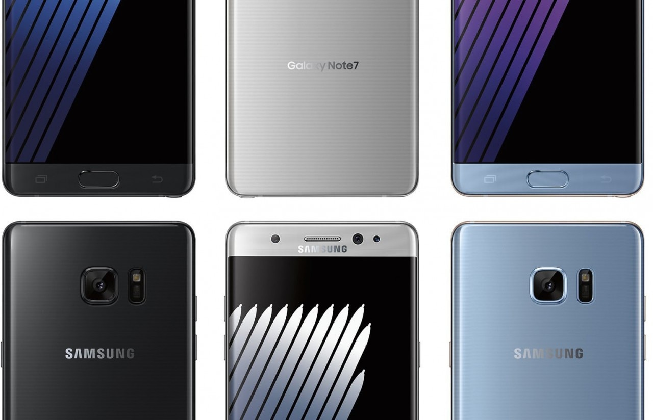 Samsung Galaxy Note 7 render alternativo