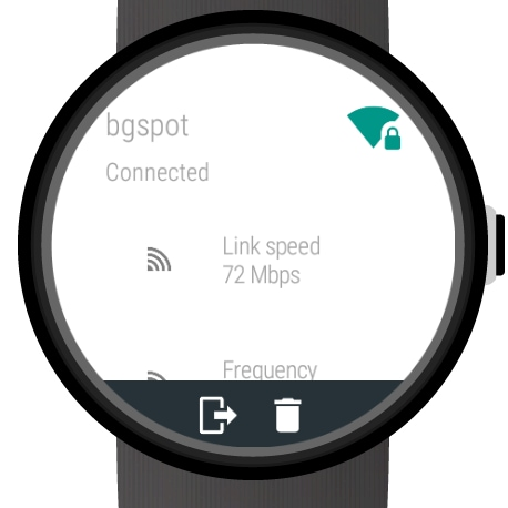 Wi-Fi Manager for Android Wear (head)