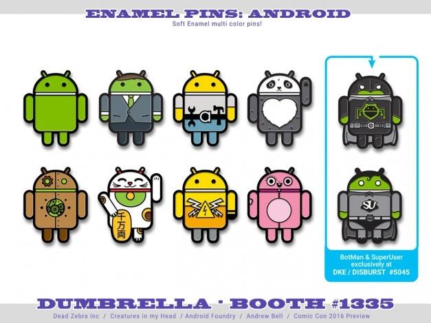 comic con android - 1