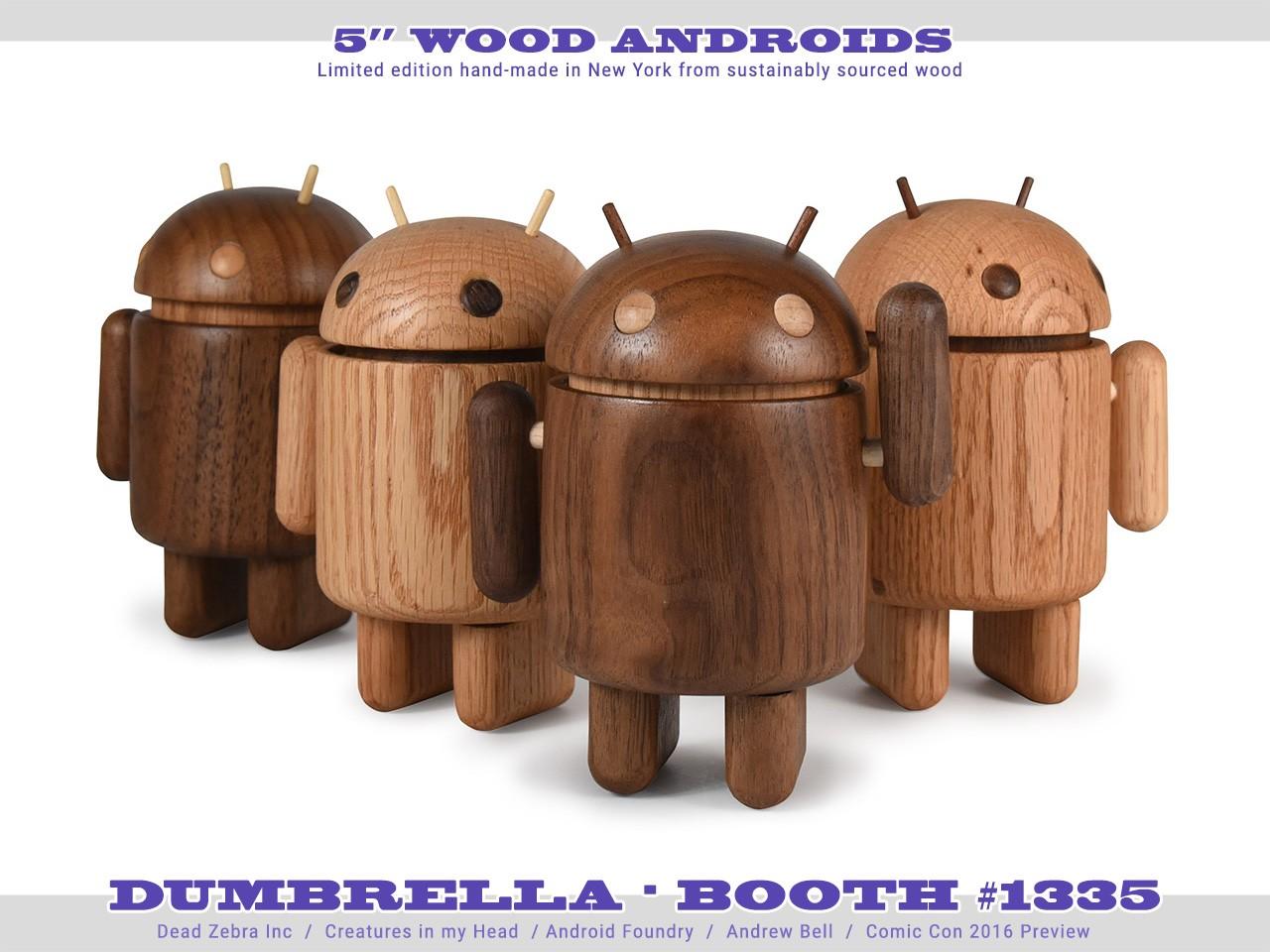Tanti nuovi gadget Android al Comic-Con: dalle spille ai collezionabili in legno (foto)
