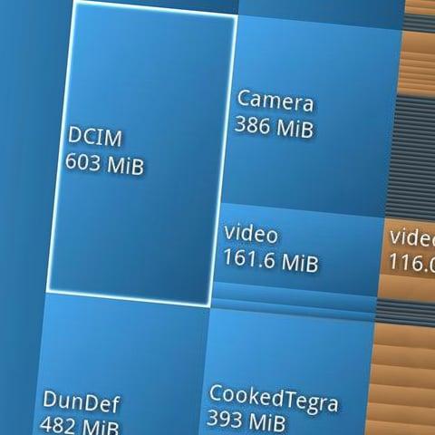 Cosa occupa memoria nel vostro smartphone? Scopritelo con DiskUsage! (foto)