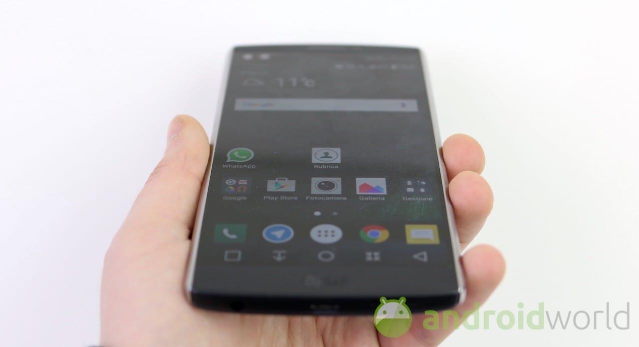 LG V10 si aggiorna a Nougat in Italia