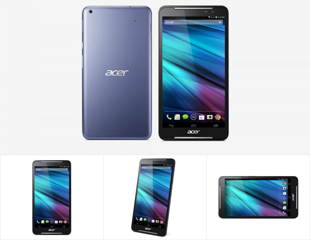 "Acer Iconia Talk S ufficiale: un bel ""phablettone"" dual SIM da ben 7 pollici a soli 169€"
