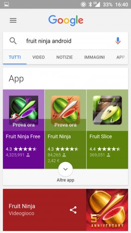 Android Instant App Ricerca - 3