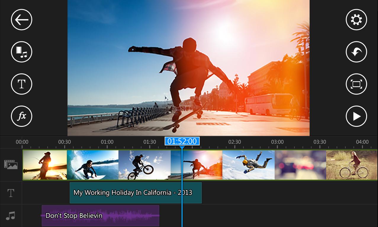 CyberLink PowerDirector, un editor video gratuito semplice e completo (foto)