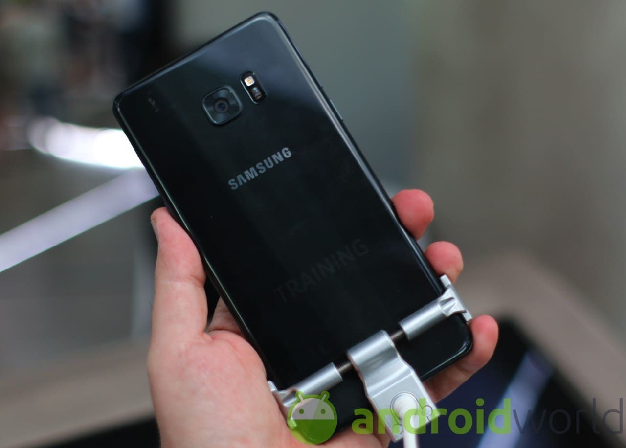Foto Samsung Galaxy Note 7 -8