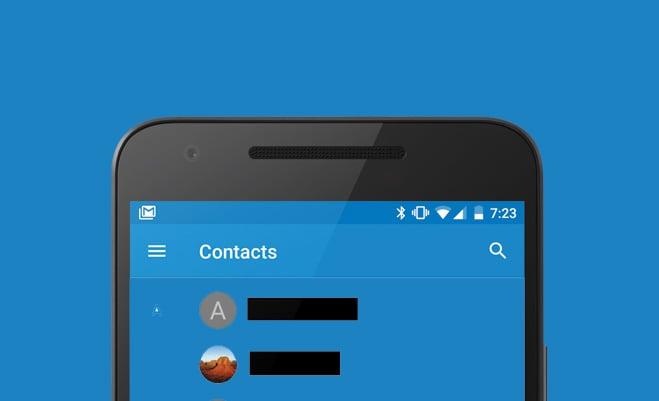 Google aggiorna Contatti: c'è l'hamburger sul menu, o forse era il contrario? (download apk)