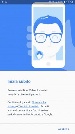 Google Duo screenshot - 1