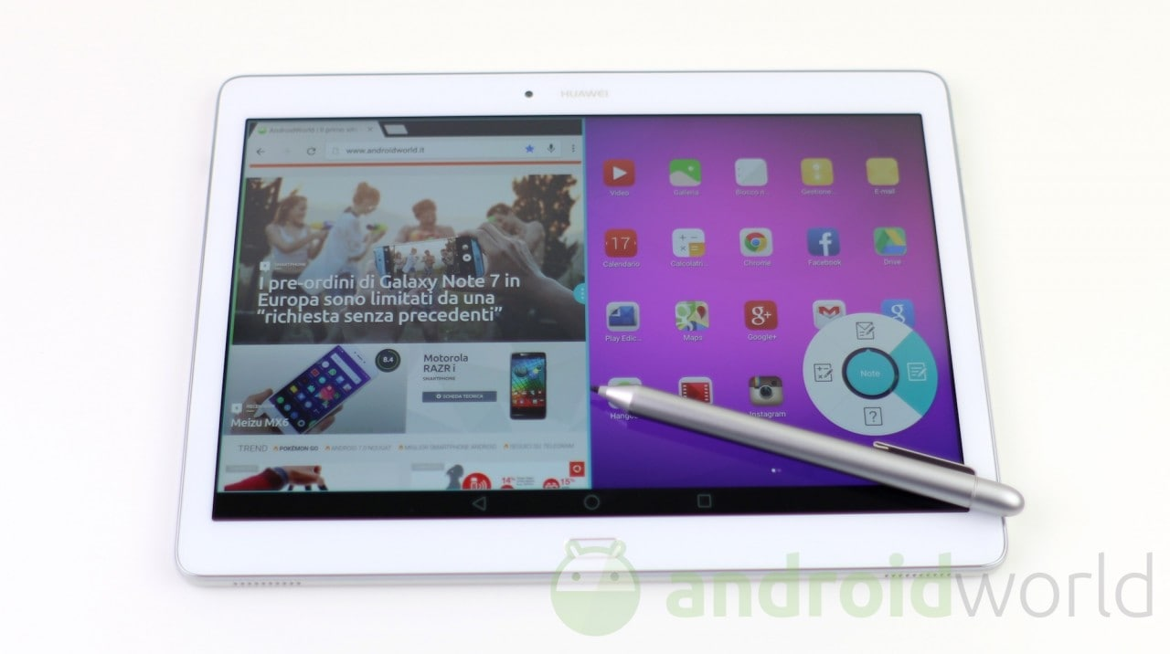 Huawei MediaPad M3 certificato all'FCC: in arrivo ad IFA? (video)