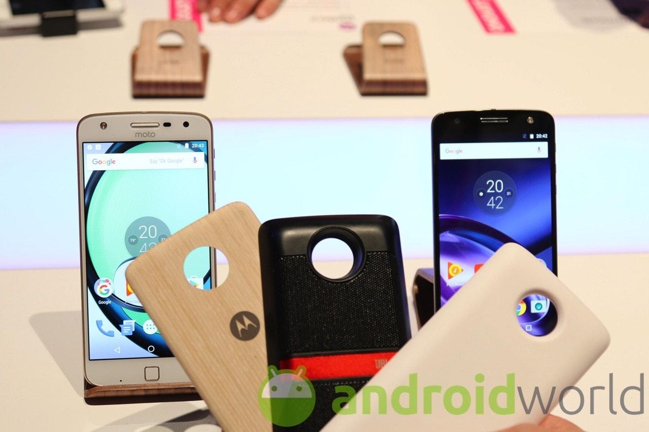Lenovo Moto Z si aggiorna ad Android Nougat in Italia (foto)