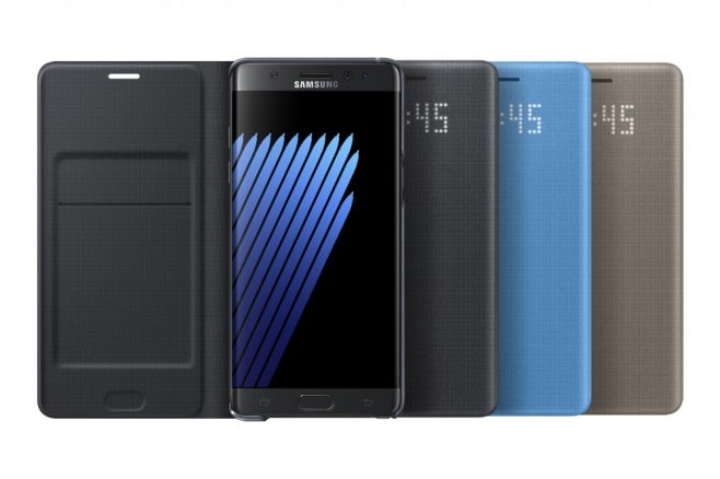 Note 7 LED View Cover - 1