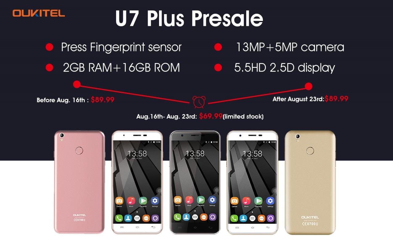 Oukitel U7 Plus pre-ordine - 4