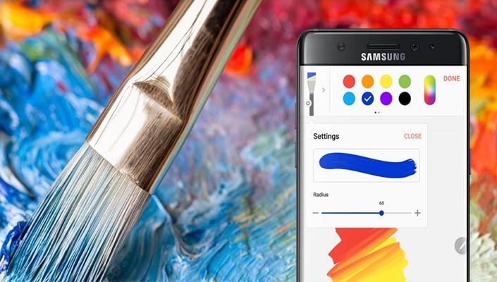 L'app Samsung Notes di Note 7 arriverà anche sui precedenti Note