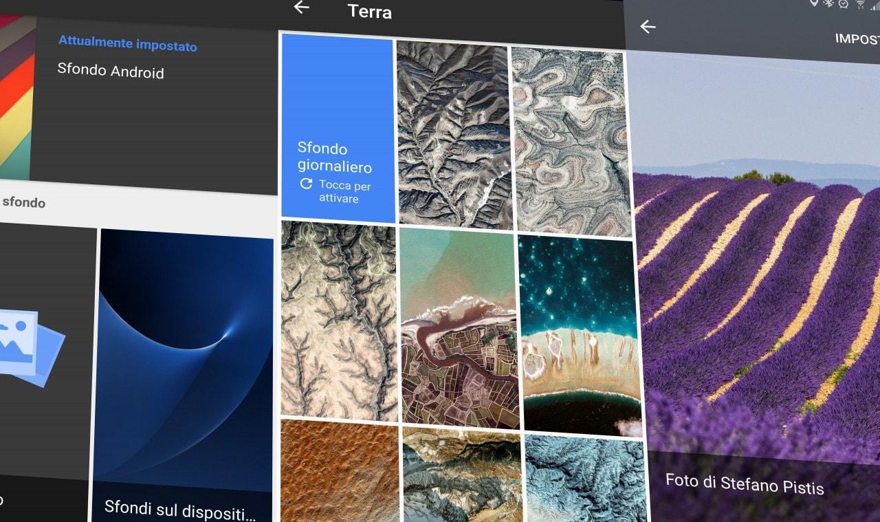 Provate Sfondi, la nuova app di Google per... gli sfondi!