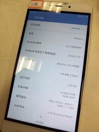 Xiaomi Redmi 4 - 4