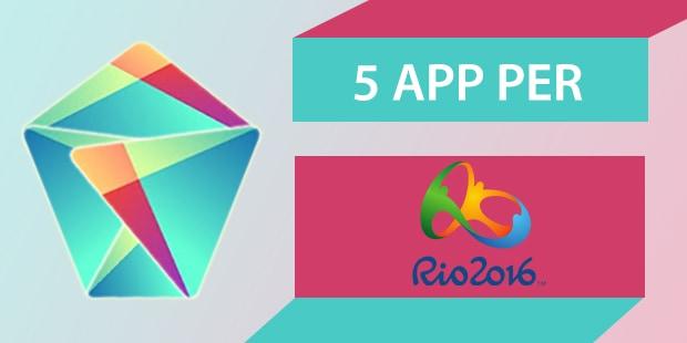 migliori app android olimpiadi rio 2016