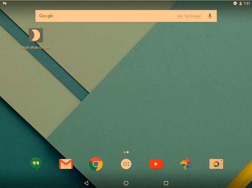 Volete la modalità notturna su Android Nougat? Provate Night Mode Enabler! (video)