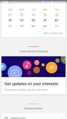 nuovi interessi google now - 3