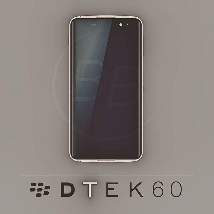 Confermate le caratteristiche di BlackBerry DTEK60, in arrivo l'11 ottobre (foto)