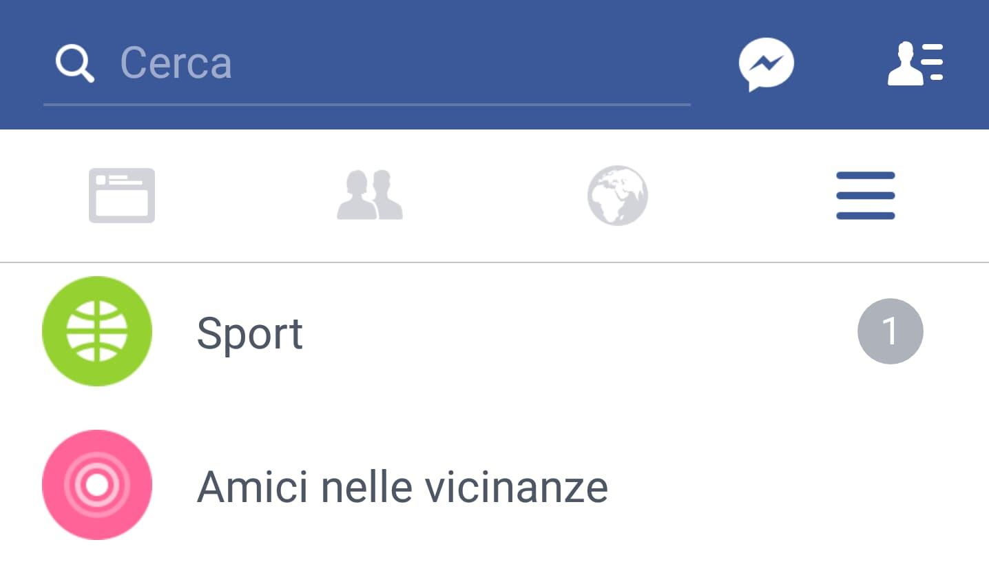"""La """"nuova"""" sezione Sport di Facebook che raccoglie punteggi, statistiche, post degli amici e degli esperti (foto)"""