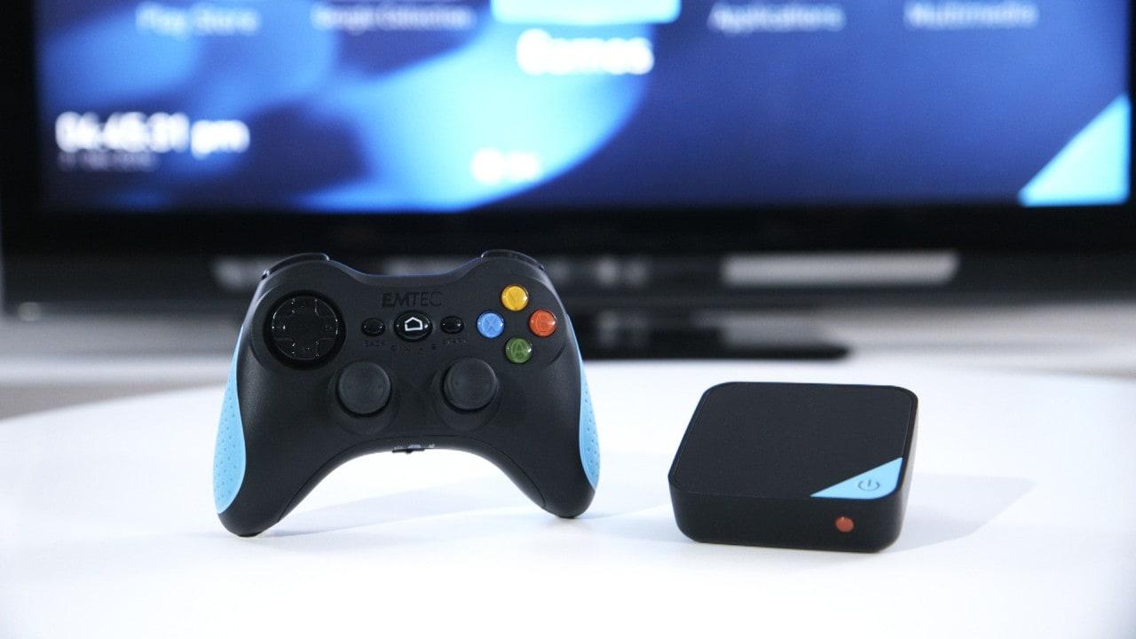 GEM Box è una mini-console da 99€con streaming di giochi PC e accesso a Google Play (foto e video)