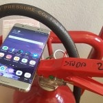 Galaxy note 7 fuoco