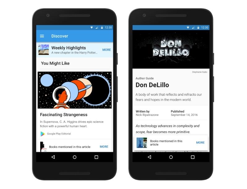Discover è una nuova ed utilissima funzione di Play Libri, per ora esclusiva USA