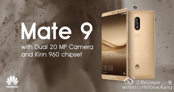Huawei Mate 9 in quattro versioni, dall'8 novembre: ma sarà tutto vero?