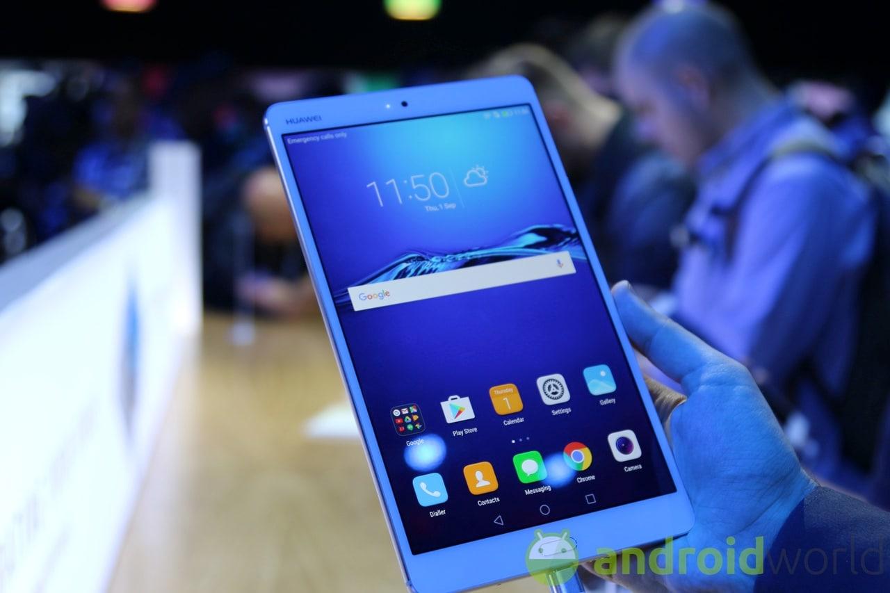 Huawei MediaPad M3: la nostra anteprima da IFA 2016 (foto e video)