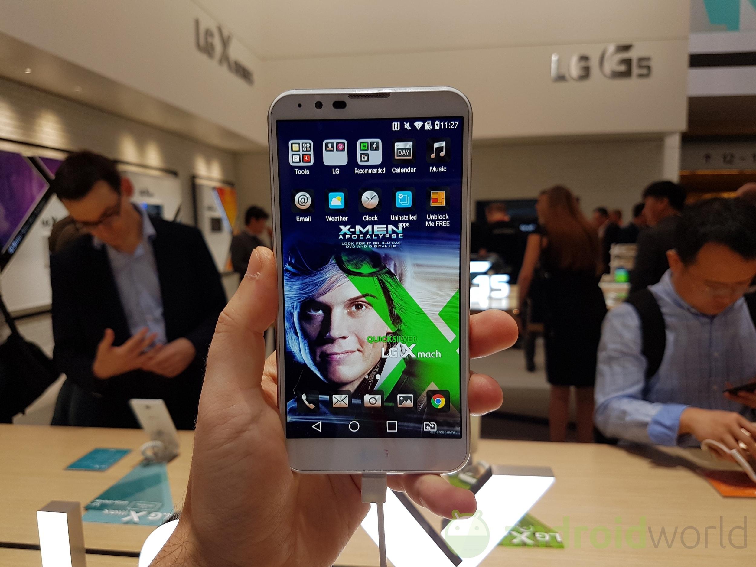 LG X Mach, X Max, X Style e X Power, anteprima IFA 2016 (foto e video)