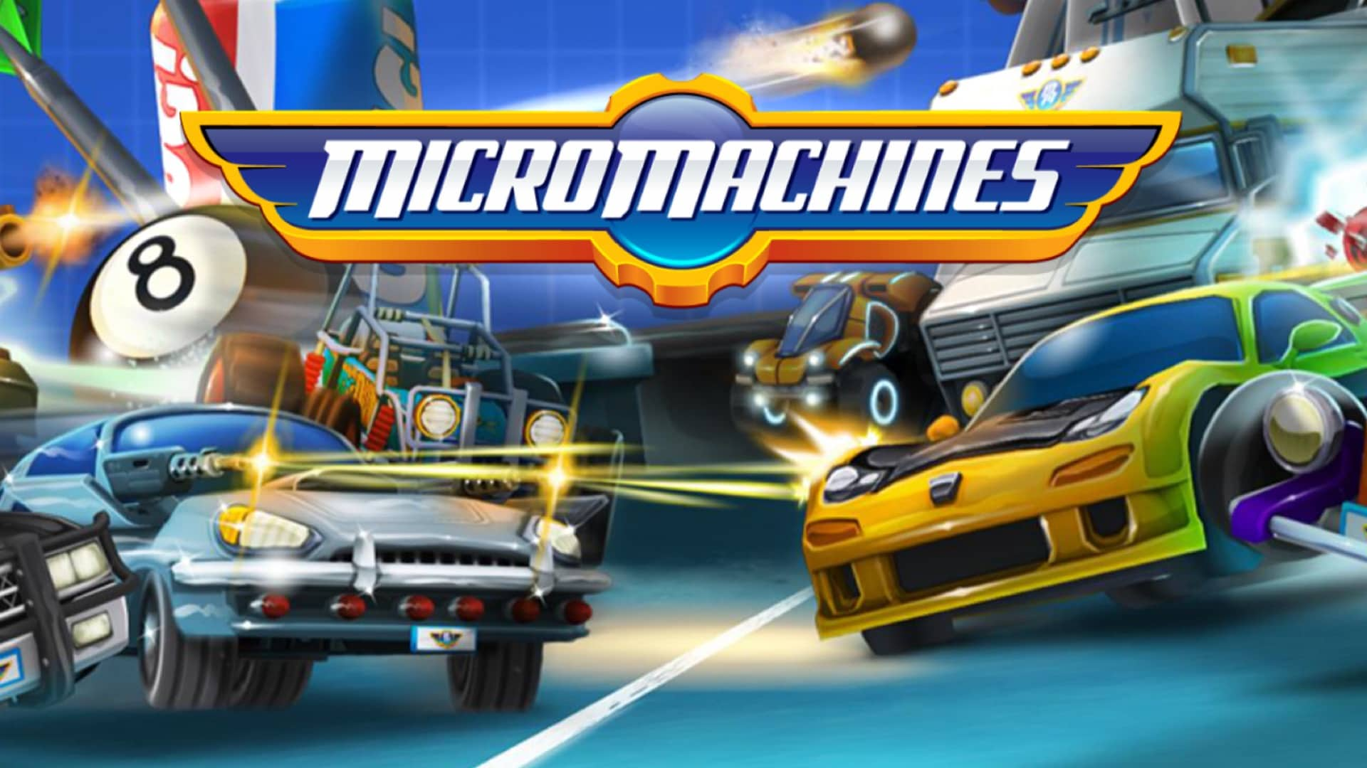 Micro Machines è finalmente disponibile per Android! (foto e video)