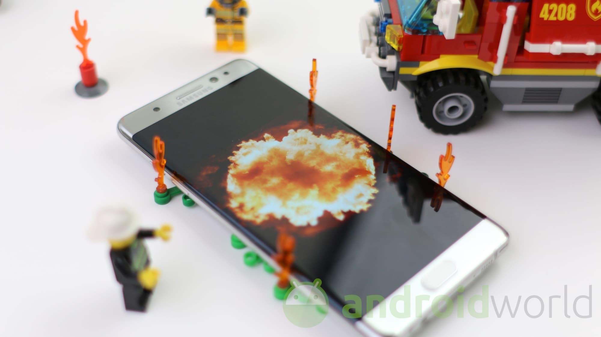 """Le inutili chiacchiere sulla perdita di valore di Samsung, a causa del """"boom"""" di Galaxy Note 7"""