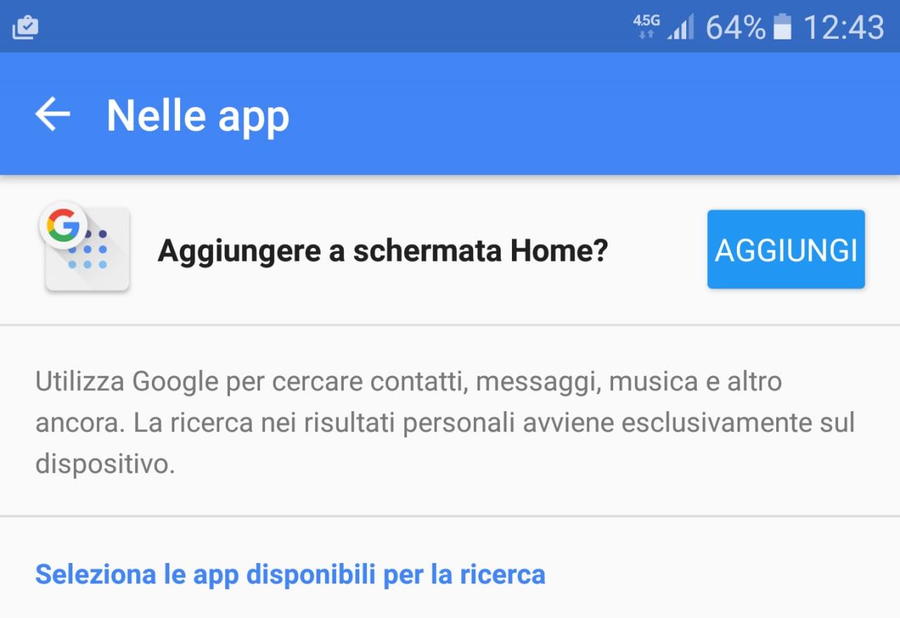 L'ultima beta dell'app Google aggiunge un link per la ricerca in-app e rinomina Now on Tap e le schede Now