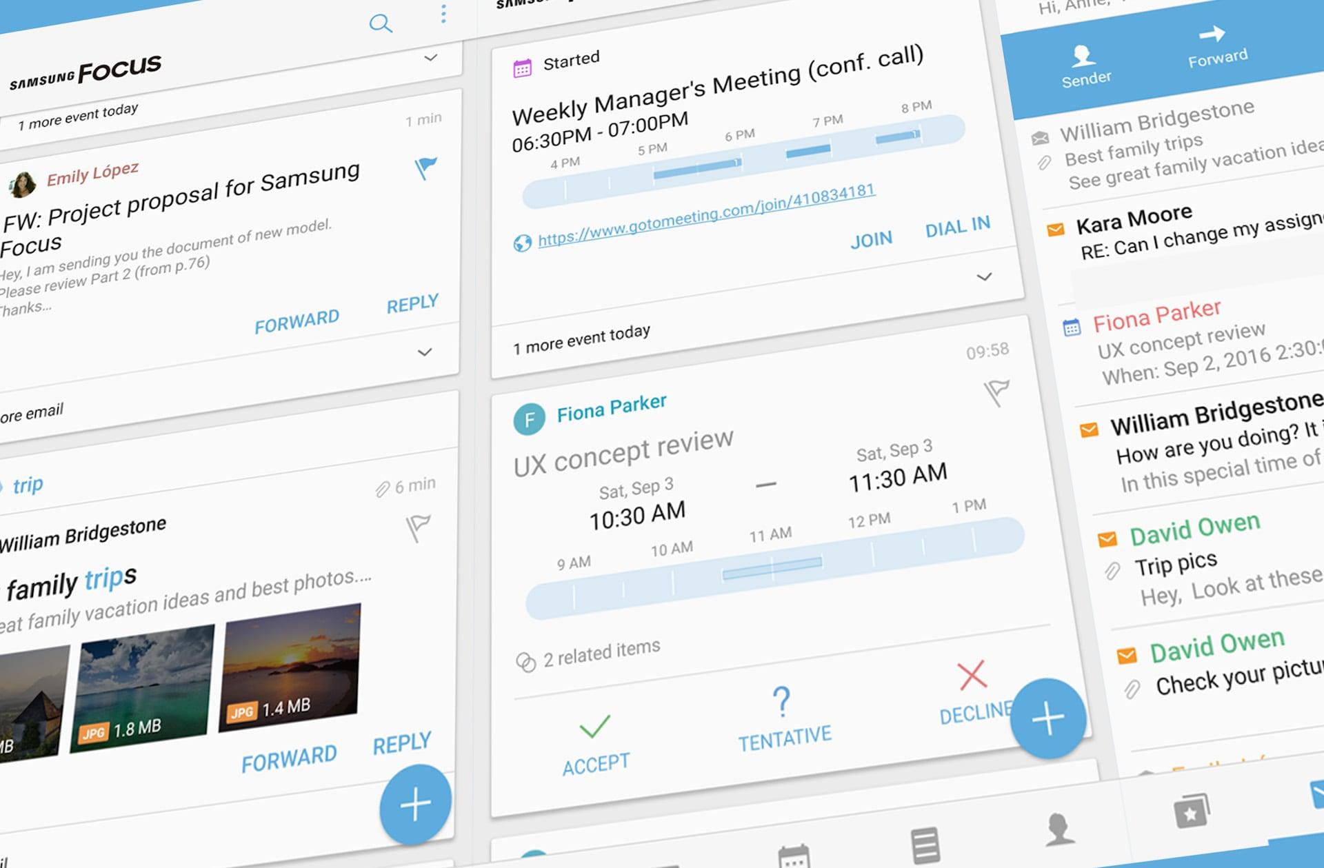 """Disponibile Samsung Focus, un'app """"all-in-one"""" per la produttività (download apk)"""