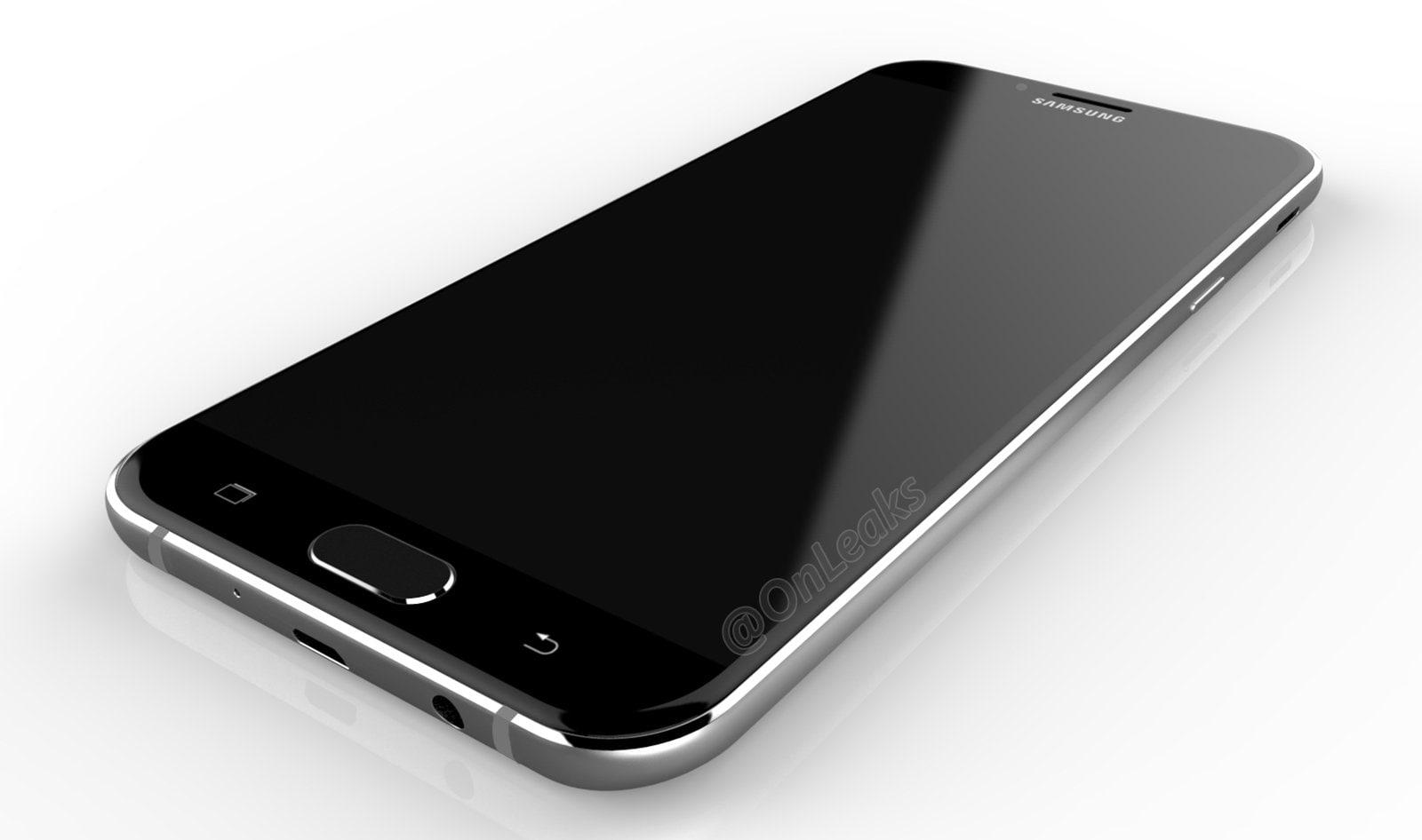 Samsung Galaxy A8 prende spunto da Galaxy S7, ma con speaker sul fianco? (foto)