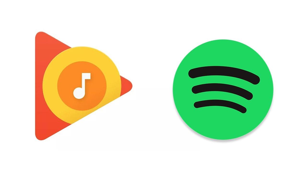 Spotify Google Play Music