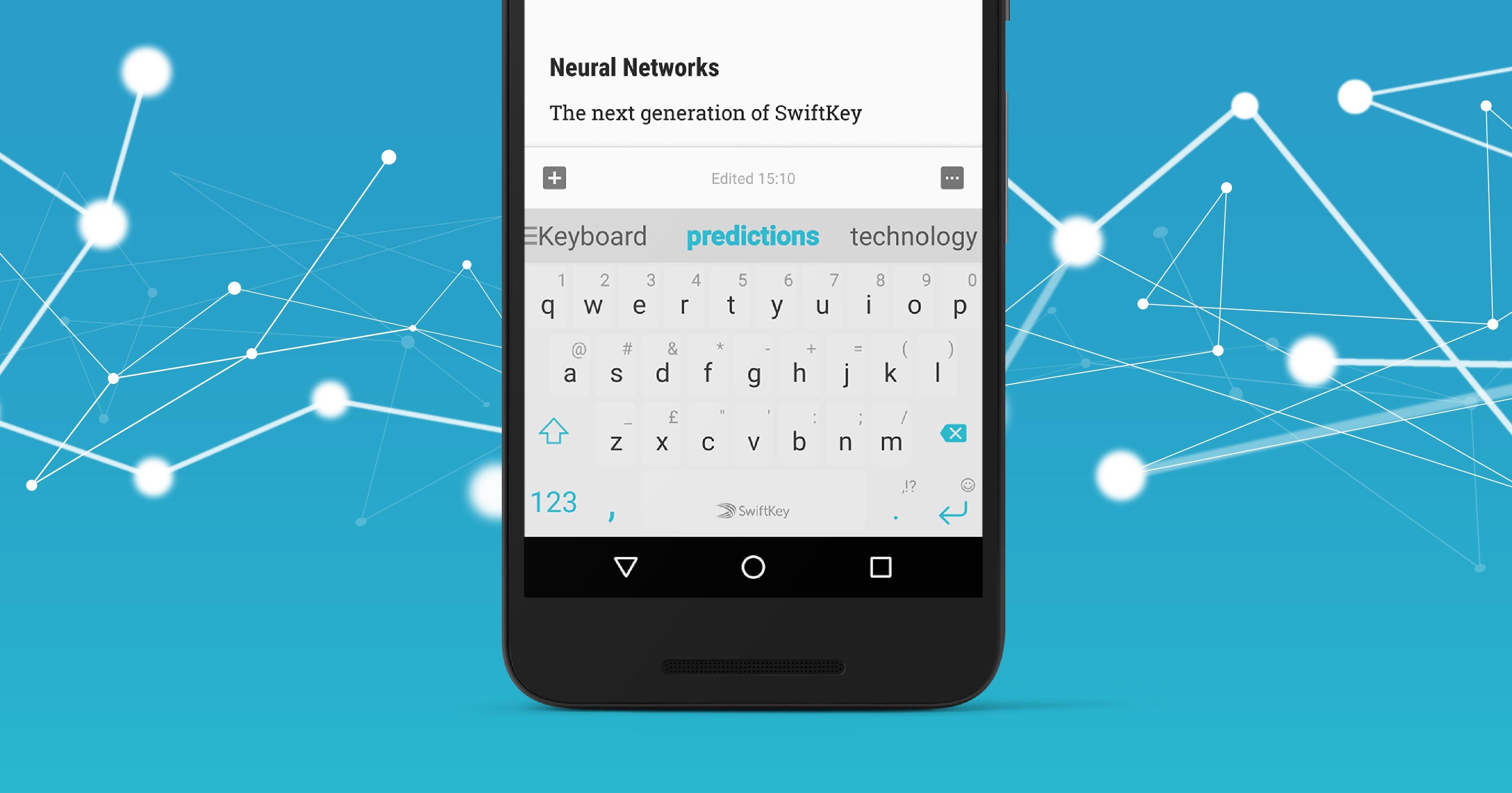 L'ultima versione di SwiftKey impiega (finalmente) le reti neurali: ecco come funziona (foto e video)