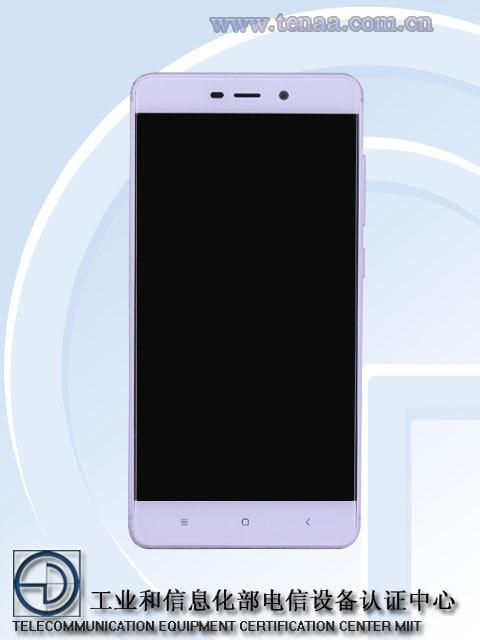 Xiaomi Redmi 4 – TENAA – 4